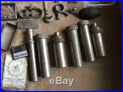 115 1941 Medical Microscope Slides Plus Vintage Medical Equipment