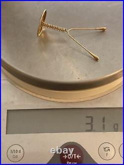 1930s Antique 14kt Gold Pessary IUD-Vintage Medical Equipment