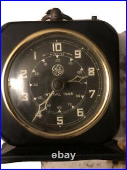 1950s VINTAGE GE Interval Timer for X-ray Exposures Medical, Hospital Equipment