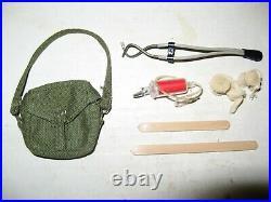1964 GI Joe Vintage Hasbro 12 Marine Medic Equipment Group
