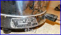 #2236 Vintage Rochester Medical Equipment Inhalator No. 17075 Science Medicine