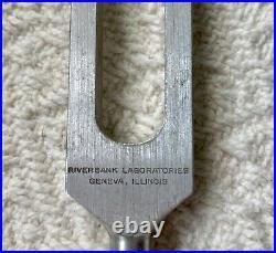 2 Tuning Forks Medical Doctor Equipment Aluminum Vintage