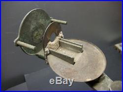 2 Vintage Kerr Centrifico Broken Arm & Sling Centrifuge Dental Casting Machines