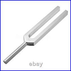 528Hz Aluminum Médical Diapason Tuning Fork Chakra Boule marteau +Maillet