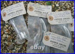 5 Vintage ANAESTHESIA MEDICAL SAMPLE TOOLS INSTRUMENTS Unused