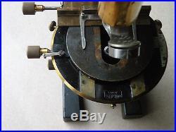 ANTIQUE Vintage Brass microscope CARL ZEISS JENA