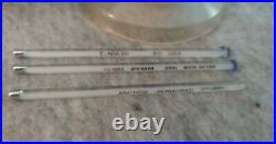 Antique Thermometers Dial A Therm Stubby Medical Equipment Collectibles Vintage