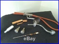 Antique vintage lot of medical tools equipment