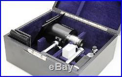 Atago Vintage (c. 1960) Cased Spectrometer / Camera System, Unused