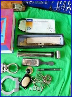BIG LOT Vintage QUACK Antique Doctors Tool Medical Equipment Oddities FREE SHIP