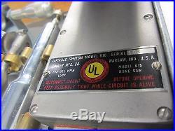 BONE SAW Vintage Luck 615 Blades Knife Accessories Case Autopsy Craft