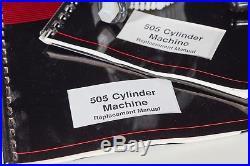 BRAND NEW Vintage Coburn Rocket 505 Cylinder Machine Lens Polisher UNUSED