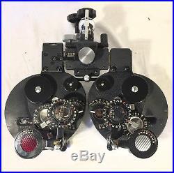 BL Bausch Lomb Refractor Phoropter Eye Exam Doctor Tools Glasses Vintage