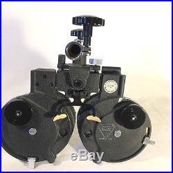 B&L Bausch & Lomb Refractor Phoropter Eye Exam Doctor Tools Glasses Vintage