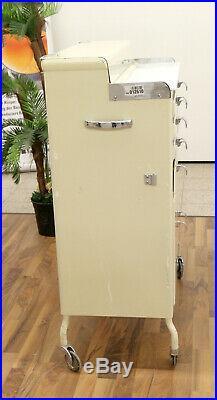 Baisch Arztschrank Dental Retro Rollschrank gebraucht gepflegt Vintage Top