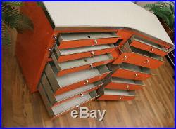 Baisch mobiler Helfer Schrankzeile Orange Vintage sehr gepflegter Zustand