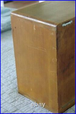 Barber Cabinet Koken Sterilizer Type Model Vintage Antique Medical Equipment