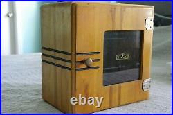 Barber Cabinet Sterilizer Model Vintage Antique Medical Equipment