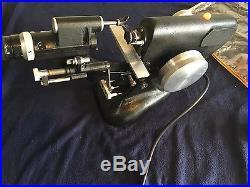 Bausch & Lomb B&L 21-65-70 Vintage Model 70 Vertometer Lensometer W Aux PrismSet