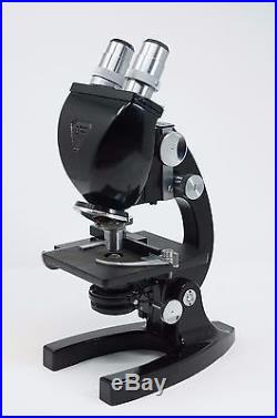 Bausch & Lomb Vintage Binocular Microscope with WD9935 10X Objective Lens