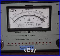 Bruel & Kjaer Measuring Amplifier Type 2636 Vintage Retro