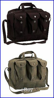Canvas medical equipment medic bag vintage military style rothco 8158