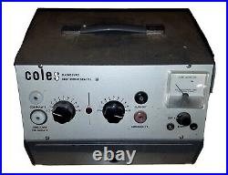 Coles Radiosurg Electronic Scalpel IV Medical Dental Equipment Vintage