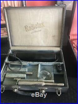 Collection Of Vintage Quack Ultra Violet Medical Equipment