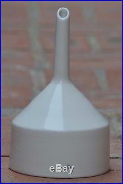 Coors USA Buchner Funnel 06 WITH PLATE Vintage White Porcelain CoorsTek 5 D