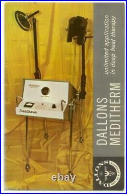 Dallons Meditherm Medical Equipment Vintage Advertising Postcard