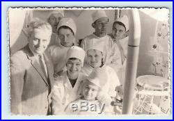 Dental clinic Dentistry USSR Doctor Dentist Medical equipment vintage photo A01
