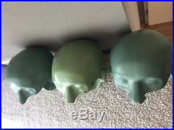 Dental manikin head VINTAGE HEAD 3X from the 60s RARE