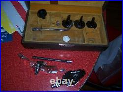 Early Vintage Medical Equipment otoscope acessories by national in box