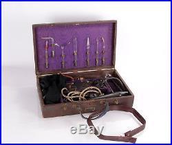 Elmeda Hochfrequenz Apparat Reizstrom mit Elektroden Glaselektroden Vintage