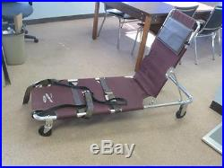Emergency stretcher Transfer Chair Collaspi Cot portable collasible new nos vtg