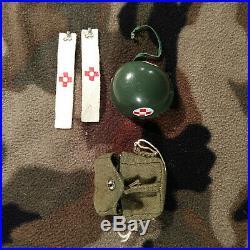 GI JOE 1960s Vintage Action Marine Medic Equipment Set # 7721