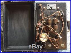 H. G. Fischer Diathermy Electrotherapy Quack Medicine Model Y Tesla Spark Gap Vtg