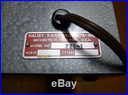 Halsey Model 226-1 Vintage X-Ray Light Board