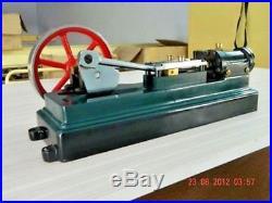 Horizontal Steam Engine Stuart Vintage Type Live Model Working Engine WithO Boiler