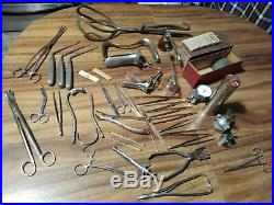Huge lot Vintage & Antique Medical Equipment oddities collection FREE SHIPPING