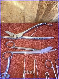 Job Lot Vintage Medical Scientific Equipment Instruments Doctor Nurse Dentist