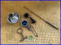 Joblot Of Vintage Medical Equipment Inc Stethoscope Diaphragm