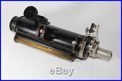 LOMO Polarizing Microscope Vintage Tube Petrographic w Eyepiece Objective