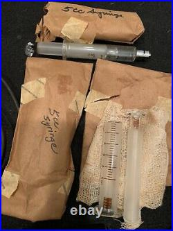 LOT VINTAGE Medical Surgical ER Medical Tools Equipment Parts from Infirmary