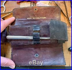 Large Lot Of Vintage Medical Equipment Including Scalpel Case