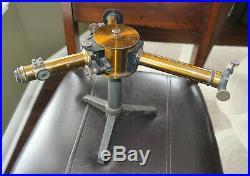 Late 1800s vintage brass antique HEELE BERLIN Spectroscope