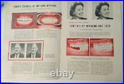 Lot Of Vintage Dental Dentist Medical Equipment Supplies & Advertising