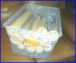 Lot of 15 NOS Vintage PYREX HUGE Glass Culture Tubes Test Tubes approx 20 x 3