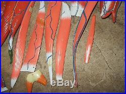 Lot of 20 Vintage Scientific Laboratory Anatomical Human Leg, Arm Muscle Models