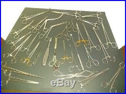 Lot of vintage medical equipment 45 + pieces